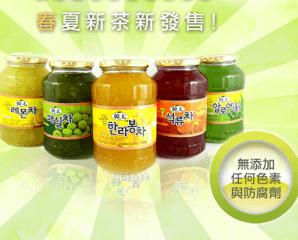 正宗韓國柚子茶系列