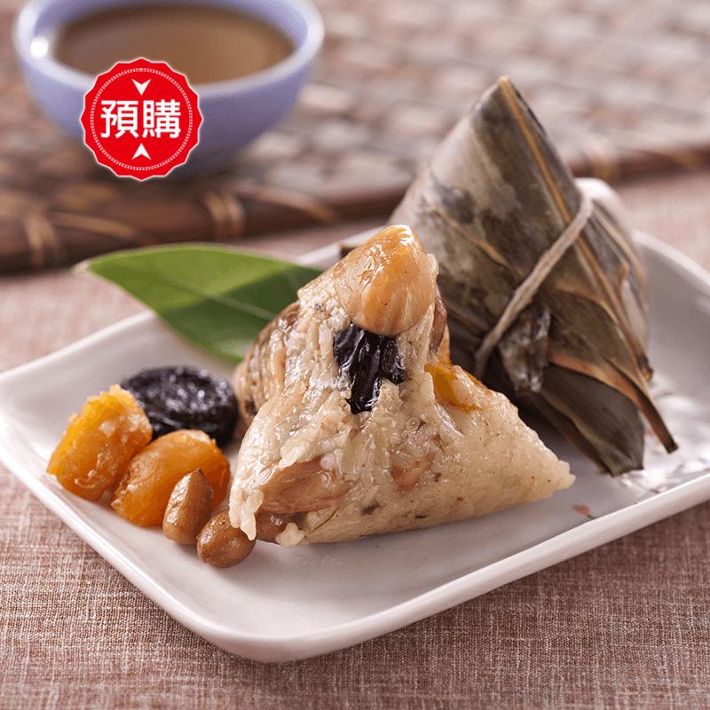 嘉義巧巧栗子干貝肉粽,限時6.1折,請把握機會搶購!