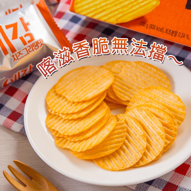 好麗友韓國預感洋芋片家庭號,限時6.8折,請把握機會搶購!
