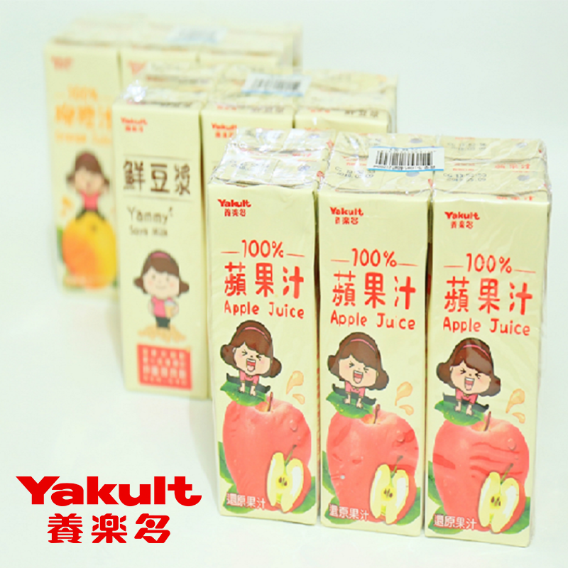 Yakult非基改豆漿果汁,限時7.5折,請把握機會搶購!
