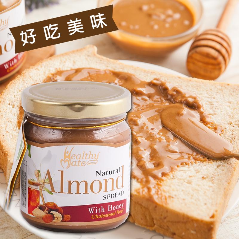 健康天然蜂蜜杏仁堅果醬,限時破盤再打8折!