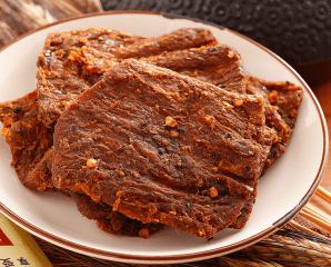 無添加味精香烤素肉乾,限時4.6折