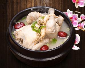 韓國上選藥膳料理蔘雞湯,限時6.3折,今日結帳再享加碼折扣