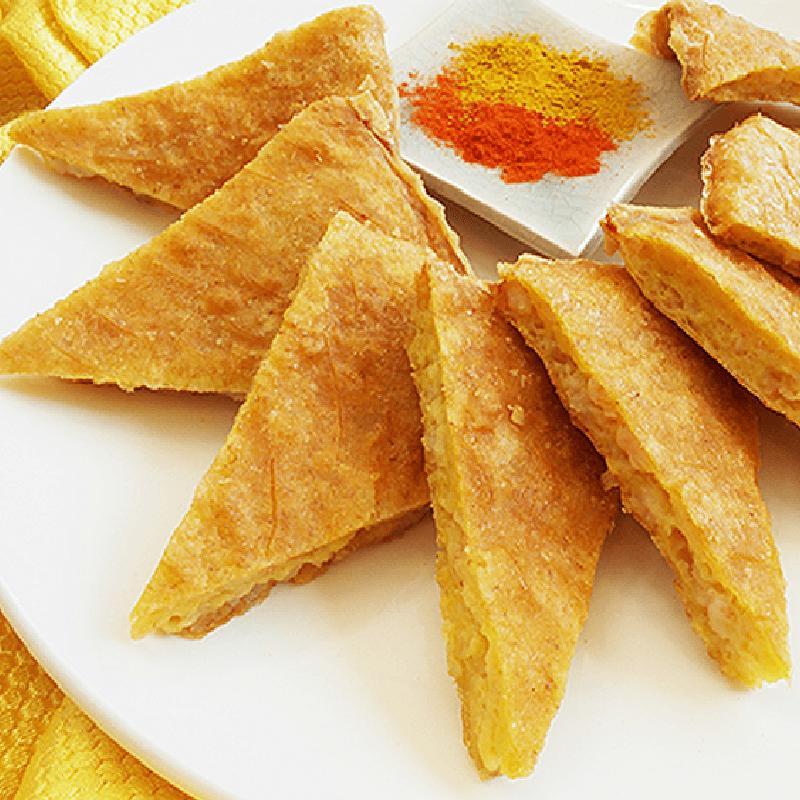 嚴選美味厚片月亮蝦餅,本檔全網購最低價!