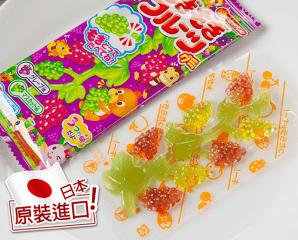 明治摘葡萄造型QQ軟糖,限時6.1折,今日結帳再享加碼折扣