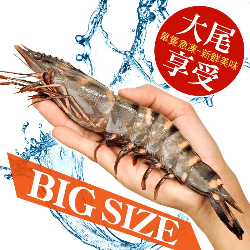 巨無霸驚天野生海草蝦,限時破盤再打82折!