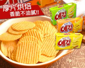 韓國預感洋芋片家庭號,限時6.3折,今日結帳再享加碼折扣
