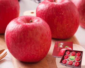 日本青森富士蜜蘋果禮盒,限時7.5折,今日結帳再享加碼折扣