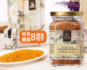 尋蜜趣台灣阿里山茶花粉,限時4.5折,今日結帳再享加碼折扣