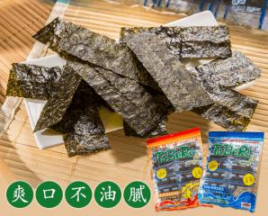 泰國海味即食百束海苔,限時4.0折,今日結帳再享加碼折扣
