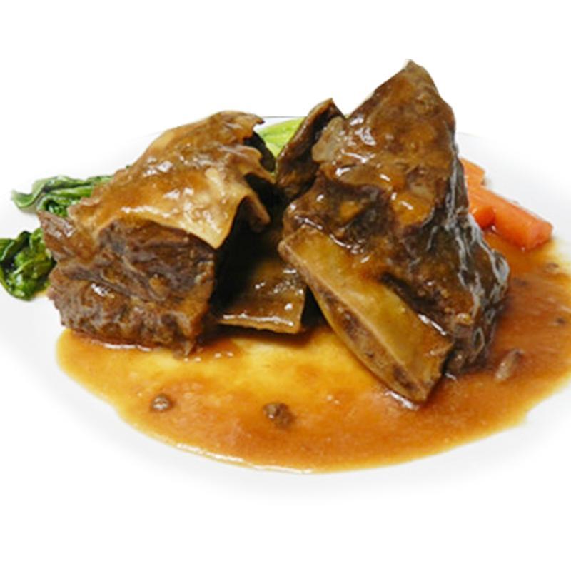 中華料理美味乾燒牛小排,今日結帳再打85折