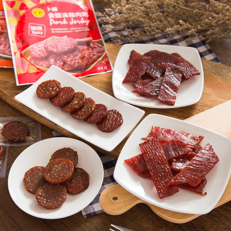 卜蜂金圓滿豬肉乾肉條,限時4.5折,請把握機會搶購!