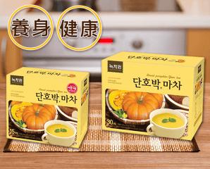 韓國綠茶園南瓜山藥飲,限時6.9折,今日結帳再享加碼折扣