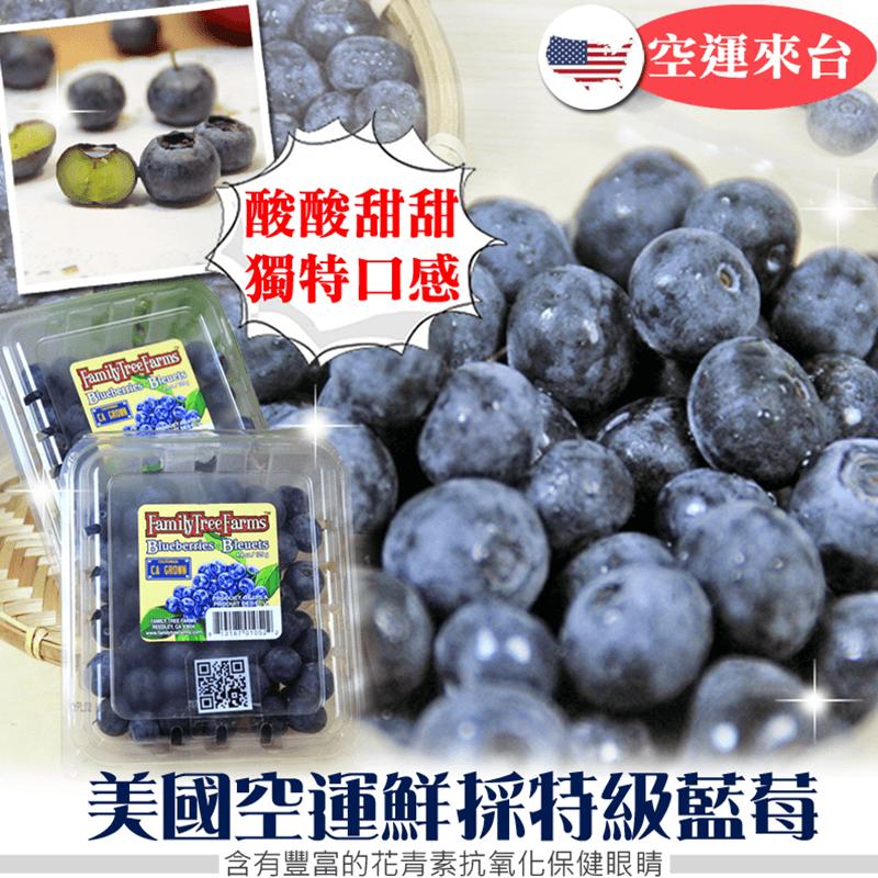 美國空運鮮採特級藍莓,限時4.0折,請把握機會搶購!