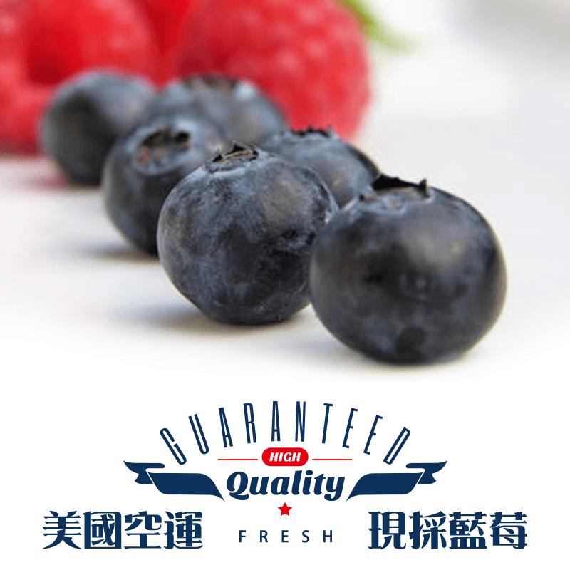 美國空運新鮮現採藍莓,限時6.5折,請把握機會搶購!