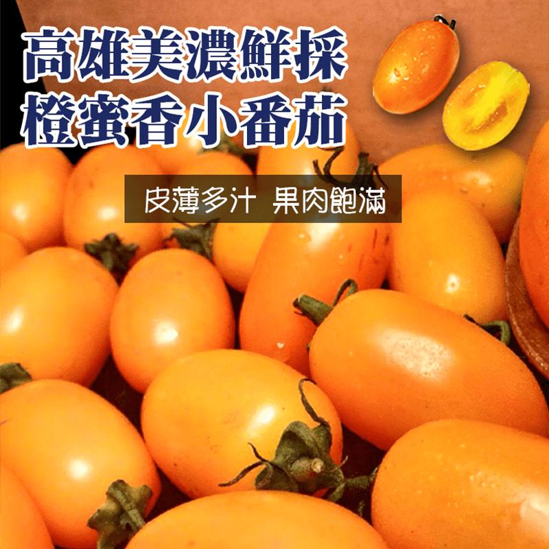 美濃特夯橙蜜香番茄大盒,本檔全網購最低價!