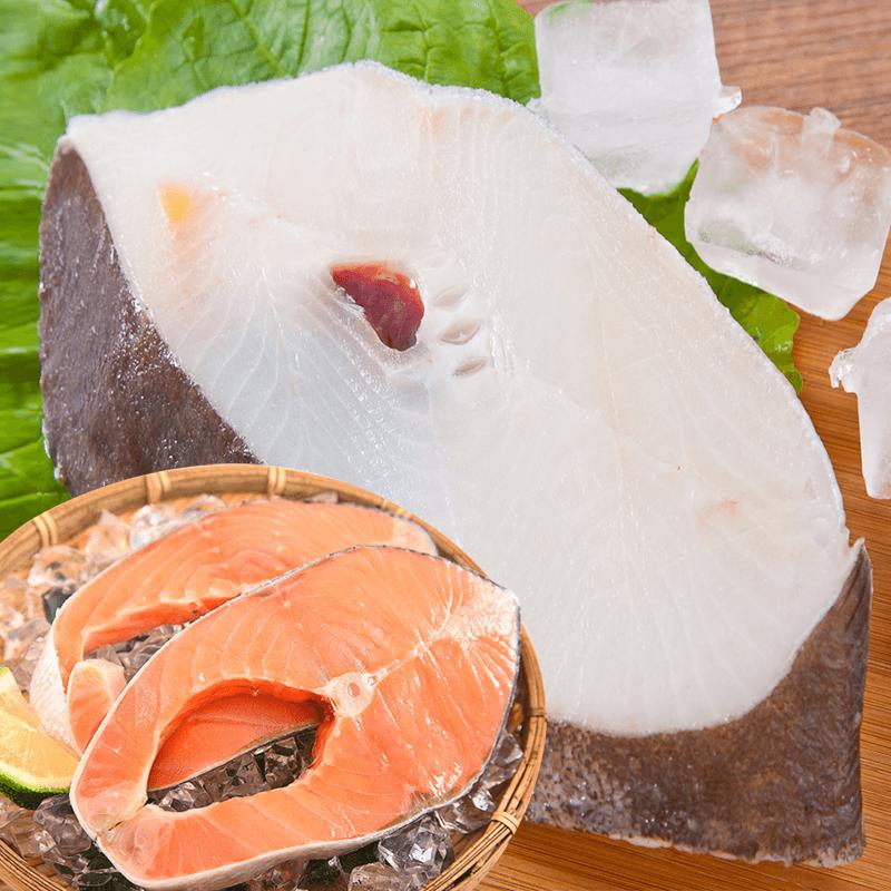 營養滿分扁鱈鮭魚雙拼,限時破盤再打8折!