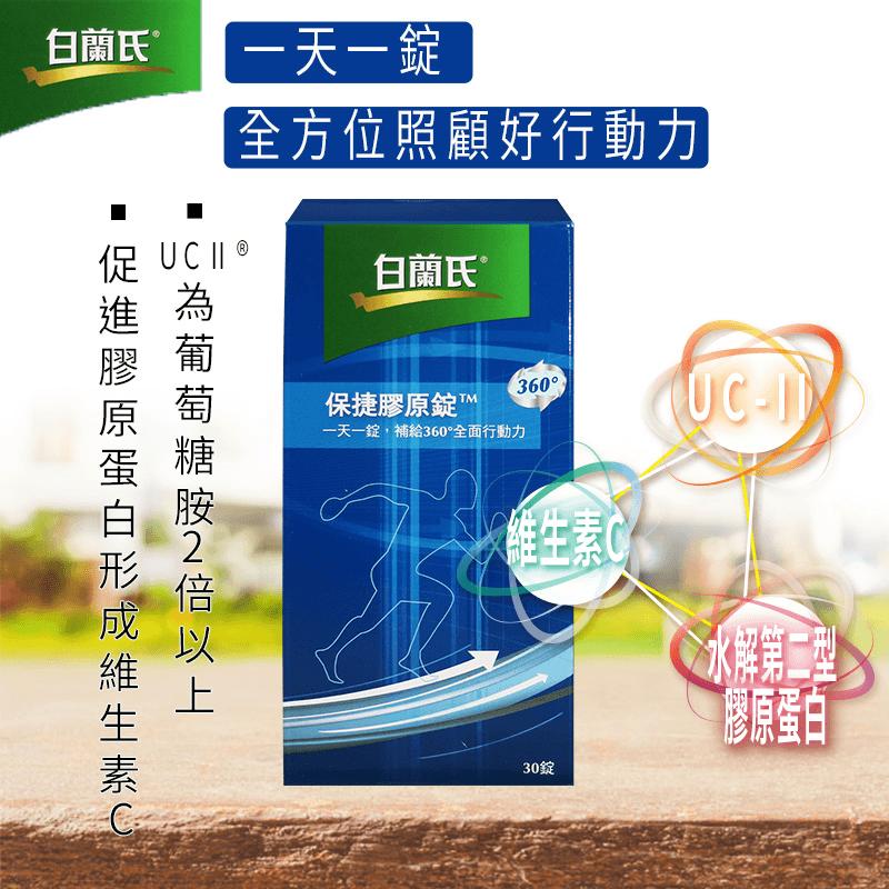 【白蘭氏】brBands保捷膠原錠,限時8.5折,請把握機會搶購!