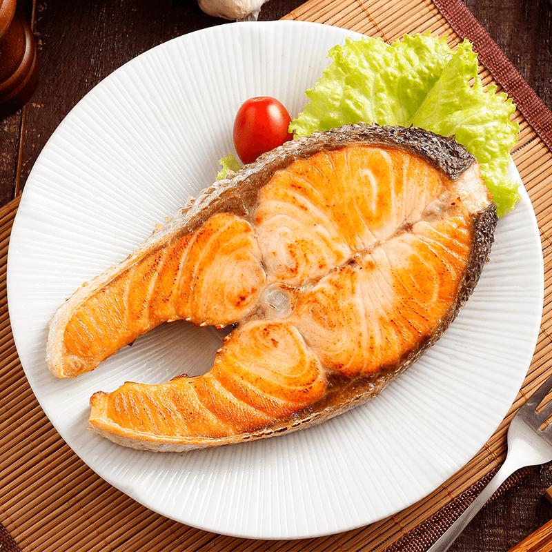 智利超厚實營養輪切鮭魚,今日結帳再打85折!
