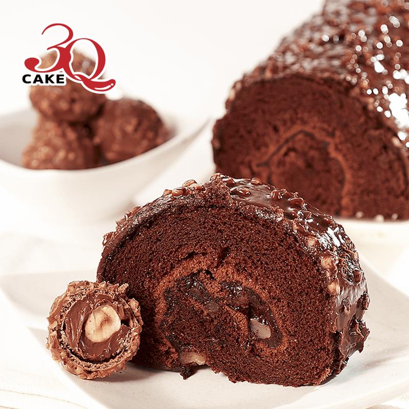 3Q經典巧克力金沙捲蛋糕,本檔全網購最低價!