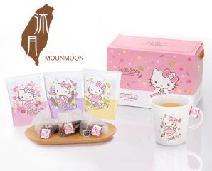 Hello Kitty花茶禮盒組,限時6.7折,今日結帳再享加碼折扣
