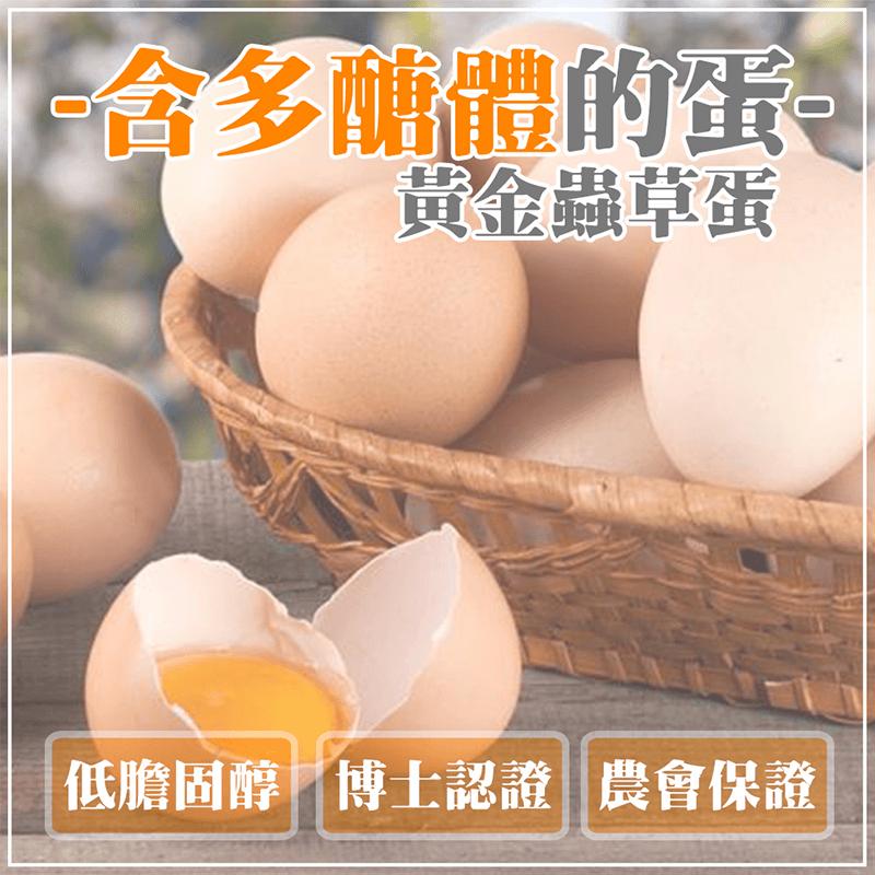 大城鄉農會黃金蟲草蛋,限時4.9折,請把握機會搶購!