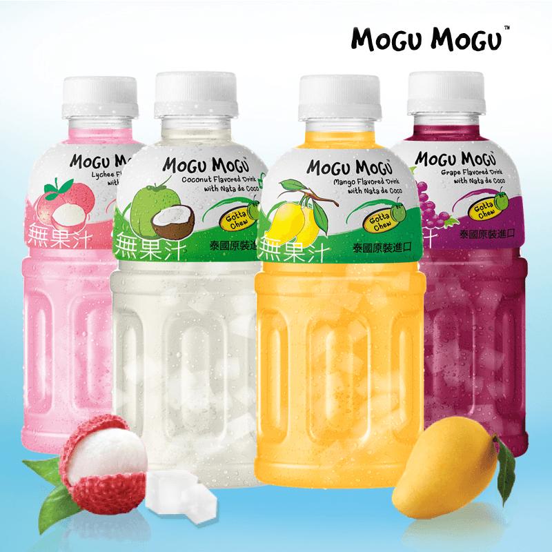 MOGU MOGU 摩咕摩咕香甜椰果飲料,限時6.3折,請把握機會搶購!