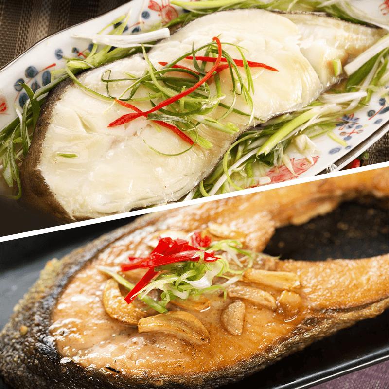 巨無霸鮭魚/比目魚切片,本檔全網購最低價!