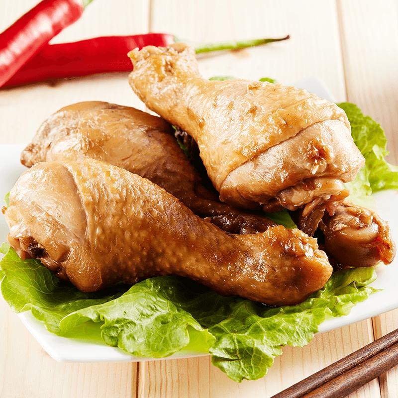 鬍鬚林鮮嫩美味滷雞腿,限時破盤再打82折!
