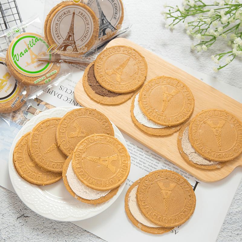團購美食法蘭酥夾心餅乾,限時破盤再打82折!