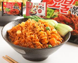 韓國辣牛肉湯麵/魷魚麵,限時6.1折,今日結帳再享加碼折扣