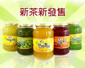 正宗韓國韓太柚子茶系列,今日結帳再打85折