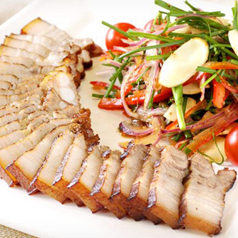 日式醃製原岩五花燒肉,今日結帳再打85折!
