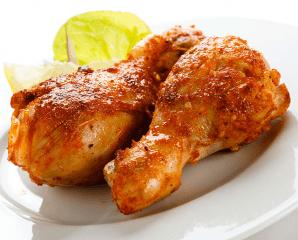 主廚推薦醬燒烤雞腿,限時2.1折,今日結帳再享加碼折扣