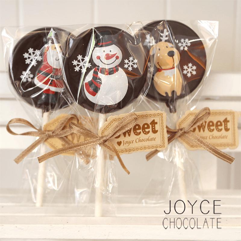 JOYCE巧克力工房聖誕傳情巧克力棒棒糖,限時破盤再打78折!