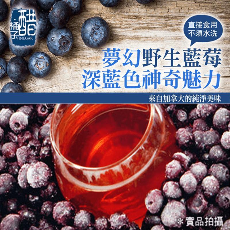 加拿大進口冷凍野生藍莓,今日結帳再打85折