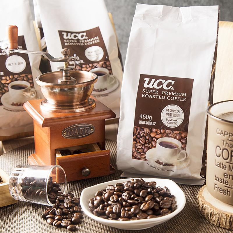 UCC香醇特級咖啡豆任選,今日結帳再打85折!