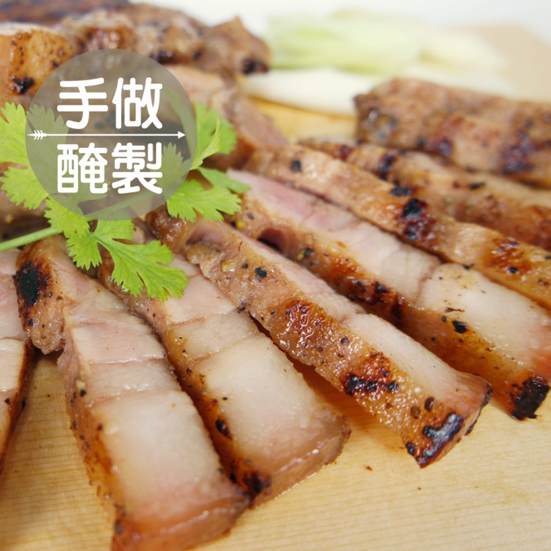 阿嬤手做醃製鹹豬肉,今日結帳再打85折!