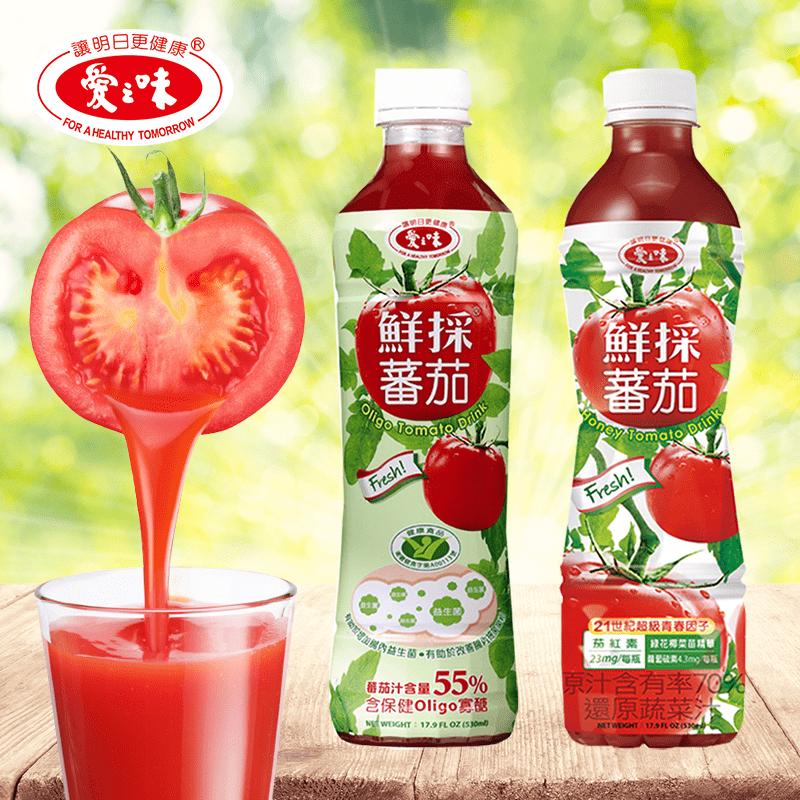 【愛之味】鮮採蕃茄汁,限時5.8折,請把握機會搶購!