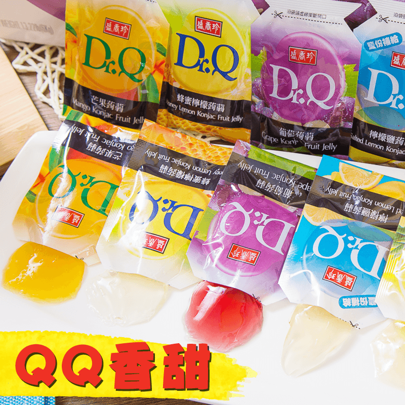 盛香珍Dr.Q箱裝蒟蒻果凍,限時5.4折,請把握機會搶購!