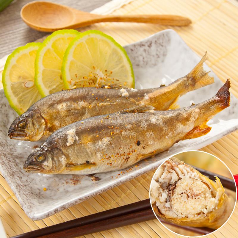 蘭陽平原鮮甜爆卵母香魚,今日結帳再打85折!