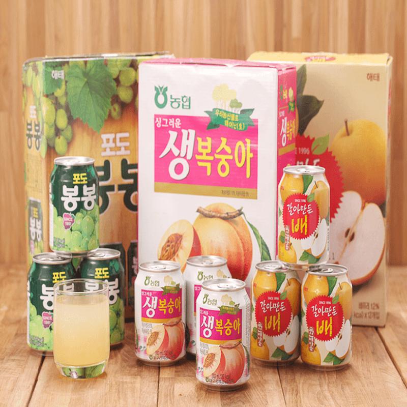 Haitai韓國果肉果汁禮盒,限時5.6折,請把握機會搶購!