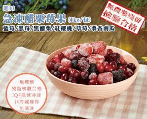 嚴選進口冷凍醋栗莓果,今日結帳再打85折
